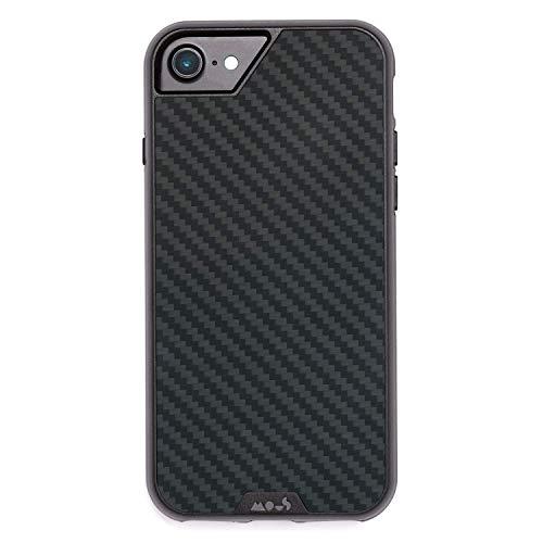 Mous Protective iPhone 8/7 / 6s / 6 Case - Aramid Carbon Fiber - Screen Protector -