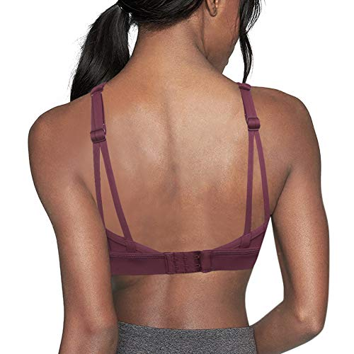 20accbdf09ef5 Queenie Ke Womens Sports Bra High Impact Wirefree Hook-and-eye Closure  Workout Bra