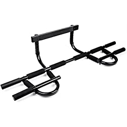 Sportneer Pull Up Bar Doorway Chin Up Pullup Bar Multi-Grip Trainer Workout for Home Gym, Up to 330 lbs