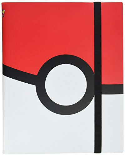 (Ultra Pro Pokemon - Poke Ball Full-View 9-Pocket PRO-Binder)