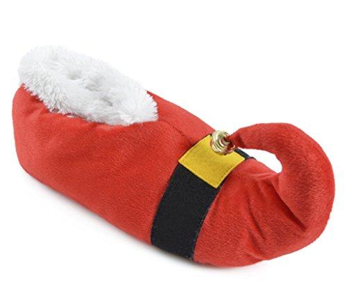 SlumberzzZ Erwachsene Weihnachtsmann 3D Neuheit Pantoffeln 3-4 (EUR 35-36)