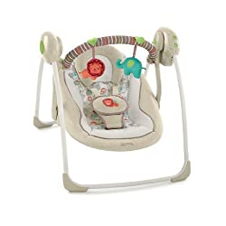 Comfort and Harmony Cozy Kingdom Portable Swing