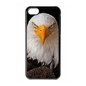 American Bald Eagle Custom Cover Case with Hard Shell Protection for Iphone 5C Case lxa#823293