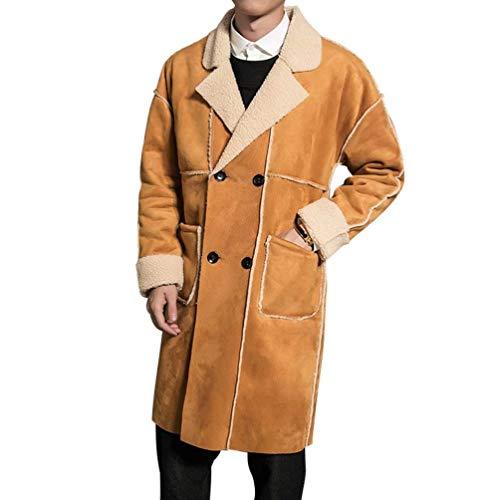 Cremallera Hombres Hombres De Color Hombres Collar Los Los Front Regular Largo Kamel SG Coat Los Hombres Size Moda Chicos Fit Stand Ntel De De Los Clásico Leisure De Cierre gqt85wq