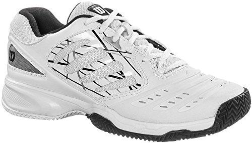Wilson WilsonTOUR Vision IV, Zapatillas de Tenis Mujer weiß - schwarz - silber