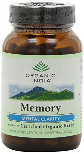 Organic India Memory 90 Count Packaging product image