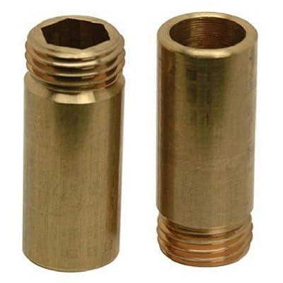 brass craft service parts scb1280x 10 Pack, 1/2 -Inch x 20 Thread, Brass Bibb Seat