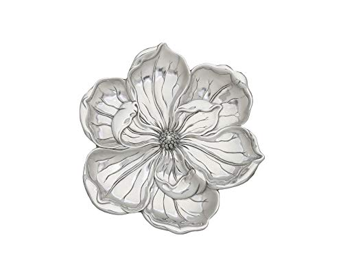(Arthur Court Designs Aluminum Magnolia Blossom Tray 11