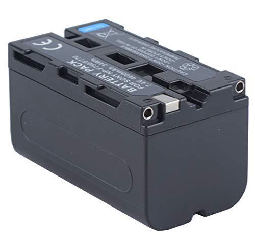 4600mAh Battery Pack for Sony NP-F330, NP-F530, NP-F550, NP-F570, NP-F730, NP-F750, NP-F770, NP-F930, NP-F950, NP-F960, NP-F970 InfoLITHIUM - Sony F770 Battery Np Infolithium