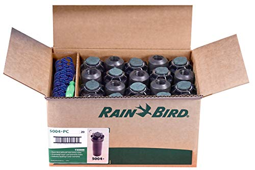 20 Case Rainbird 5004 Plus + Rotor 4″ 5000 Series Head Sprinkler 4″ Rotors 5004-PC +