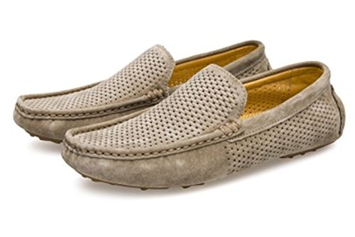 Pictures of UNN Mens Loafers Casual Boat Shoes Genuine 9