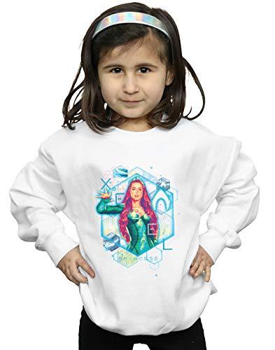 Blanc Aquaman Comics shirt Mera Fille Geometric Dc Sweat xqpwRUfOB