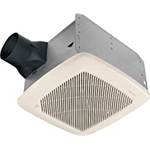 Broan QTRE100H 100 CFM Ultra-Silent Energy Star Qualified Fan with Humidity Sensing