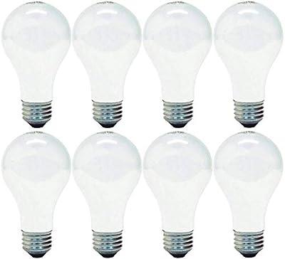 GE Lighting 66247 Soft White 43-Watt, 620-Lumen A19 Light Bulb with Medium Base
