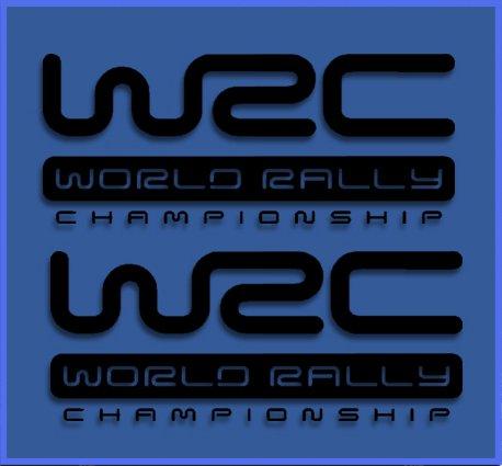Aufkleber Ecoshirt 96-3CR5-659Q Adesivi WRC Rally Dr1009 Vinile Adesivi Decal Aufkleber Colore: Nero