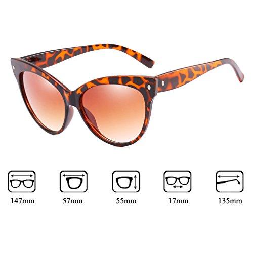 Viaje Las De 2018 Tendencia UV La C1 Sol Vidrios De Señoras De 400 Gafas Ojo Gato Protección La De De Del Conducción Mujeres Frescos Vacaciones De Para Manera Nuevas qq6z1wn