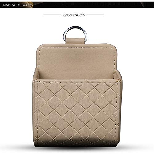Car Storage Pocket Organize Basket Car Accessories Easy to Install ,Car Storage Bag Interior Miscellaneous Goods Placement Stylish Cosmetic Pouch Stationery Office Supplies Storage Jewelry Box Accesso ()