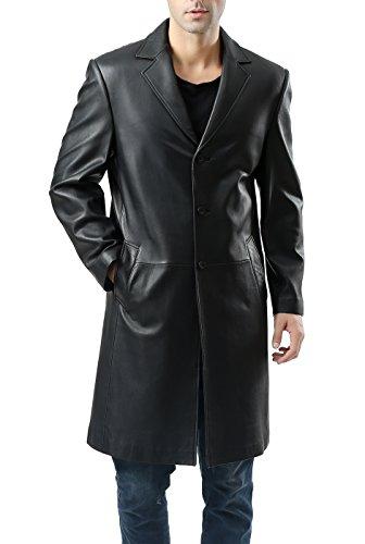 Lambskin Leather Walking Coat - 9