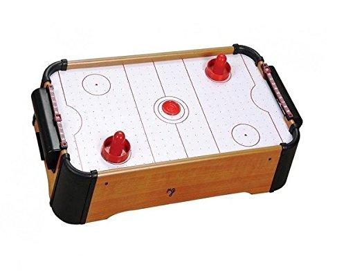 New Table Top Air Hockey 20' Pool Kids Children Wooden Family Fun Gift Football discountin ltd