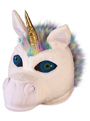 Fluffy Unicorn Mascot Mask]()