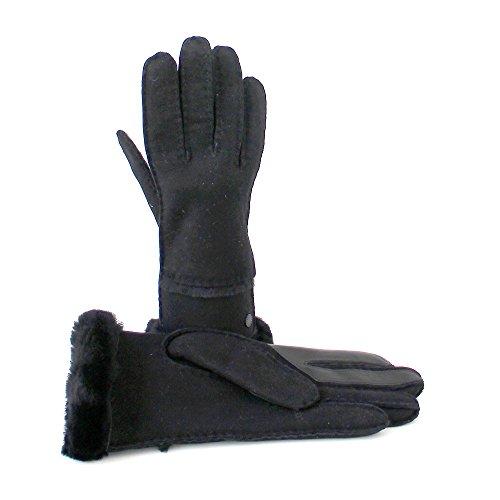 Gants Touch Femme Sheepskin Paire Noir En Cuir Ugg Pour De 0wnOPX8k