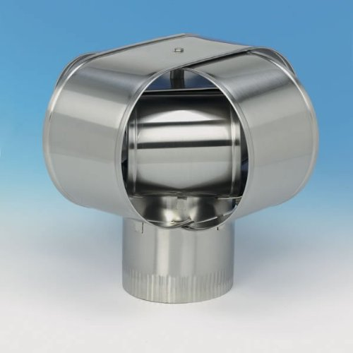 Homesaver 14906 6 Inch HomeSaver Windbeater Stainless Steel Cap 24-ga. (Windbeater Chimney Caps compare prices)