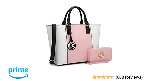 896d2e2a2ef4e DASEIN Women's Handbags Purses Large Tote Shoulder Bag Top Handle Satchel  Bag for Work: Handbags: Amazon.com