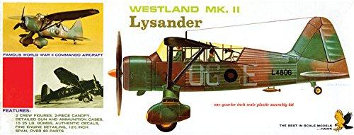 プラッツ HL410 1/48 イギリス空軍 ウエストランド ライサンダーの商品画像
