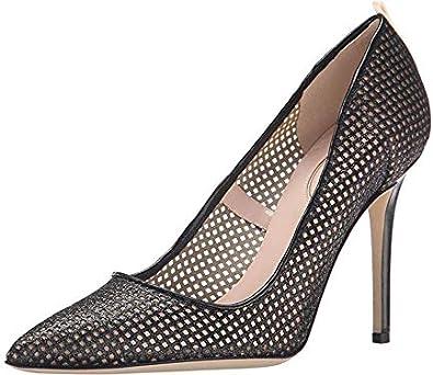 Amazon.com   SJP by Sarah Jessica Parker Women's Fishnet Fawn   Shoes