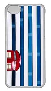 iPhone 5C Case Customized Unique Print Design Urban Color iPhone 5c Cases Transparent