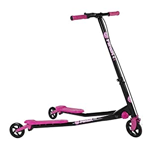 Yvolution Y Fliker A3 Scooter, Pink, One Size