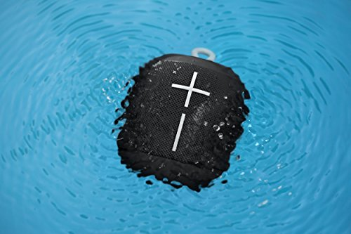 Ultimate Ears WONDERBOOM Super Portable Waterproof Bluetooth Speaker, Phantom Black
