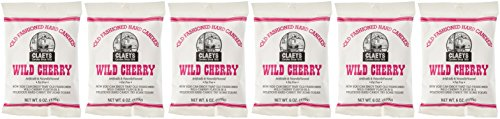 Cherry Hard Candy - Claey's Old Fashioned Hard Candy Wild Cherry Pack of 6