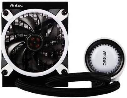 Antec MERCURY120 RGB Upgraded & Engineered for Performance with ASUS Aura SYNC and RGB Lighting Liquid CPU Cooler Water Cooling Systems at amazon