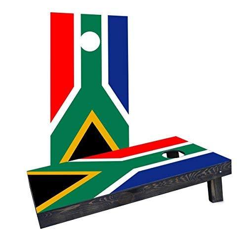 Custom Cornhole Boards Incorporated CCB274-C-RH South Africa National Flag Cornhole Boards [並行輸入品] B07HLKQPQZ