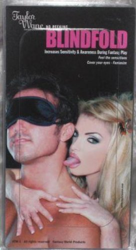 Cathy's Cuffs Taylor Wane Blindfold by Cathy's Cuffs