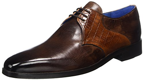 Derbys SHOES Braun Herren HAMILTON 29 CLASS amp; MADE Brown OF MELVIN HAND Lewis MH 4XqqwP