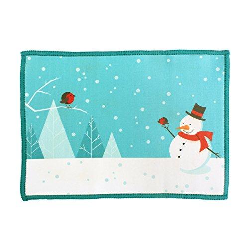 Microfiber Cleaning Cloth for iPad Snowman Smartie