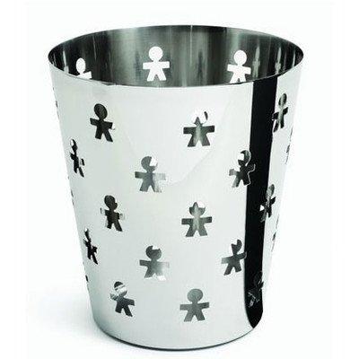 Girotondo Waste Basket Color: Stainless Steel