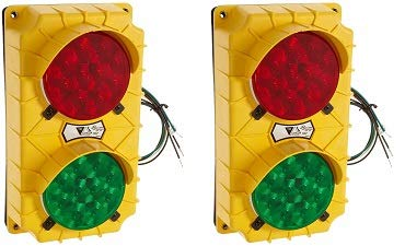Sg10 Led Stop And Go Light Signal System 6 38 Inch Width X 11 38 Inch Height X 3 34 Inch Depth 2 Pack