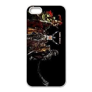 iPhone 4 4s Cell Phone Case White_Dark Souls_001 D4E7Q
