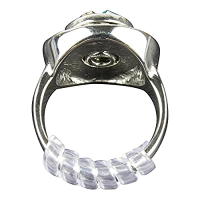 GWHOLE Ring Size Adjuster with Silver Polishing Cloth,Set of 4 (2mm/3mm) from GWHOLE