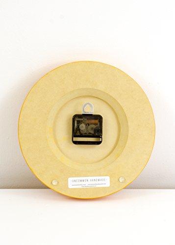 Uncommon Handmade Modern Wall Clock, Natural Birch