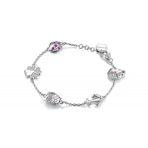 Bracelet Rosé Femme rsoa14Argent Zirconia