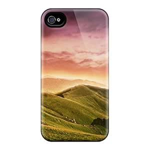 MoSDfZY5893Vvvcq Green Valley Fashion Tpu 4/4s Case Cover For Iphone
