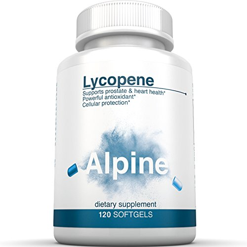 Alpine Lycopene 10mg Supplements Softgels 120 (Extract 120 Softgels)
