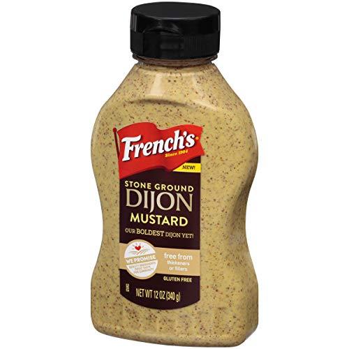 French's Stone Ground Dijon Mustard, 12 oz (Dijon Mustard Gluten Free)