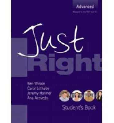 Just Right Advanced: Workbook with Key and Audio CD