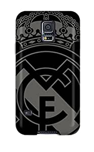 Garrison Kurland's Shop Sanp On Case Cover Protector For Galaxy S5 (real Madrid Fc Logo) 5474892K16590860