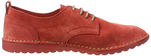 Fly London Signore Dena453fly Pizzo Rosso (rosso Strada 001)